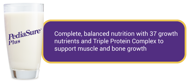 PediaSure Plus Complete Balanced Nutrition with Triple Protein