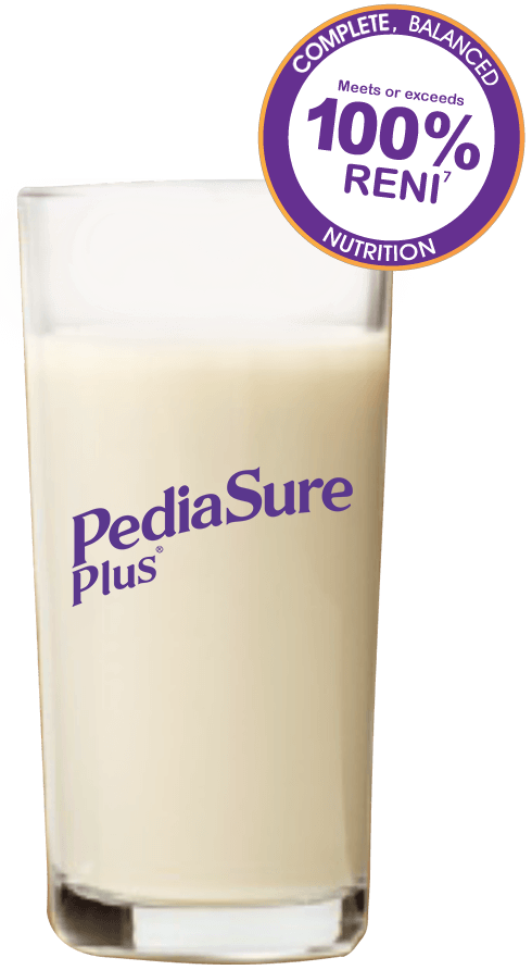 PediaSure Plus-glass-faster-growth