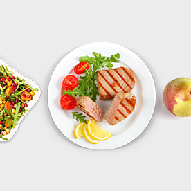 View a heart healthy meal plan.
