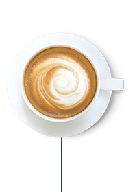 This Glucerna® high protein meal plan includes a latte with 2% milk