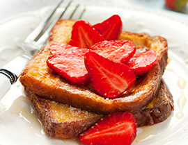 Enjoy this delicious French toast recipe with Vanilla Glucerna® today.