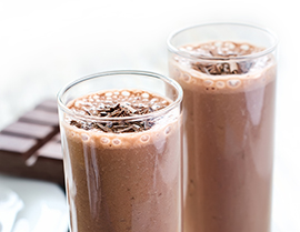 Try this sweet mocha frappe recipe with Chocolate Glucerna® today.