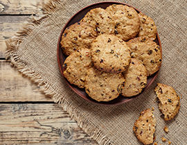 Try this delicious oatmeal cookie recipe with Vanilla Glucerna® today.