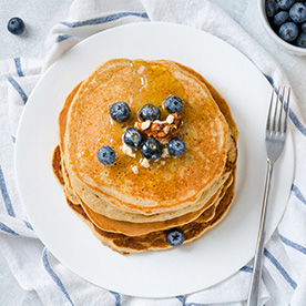 View the Oat Pancakes Recipe