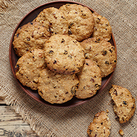 View the Oatmeal Cookies Recipe