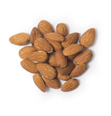 This Glucerna® high fibre meal plan includes a handful of almonds