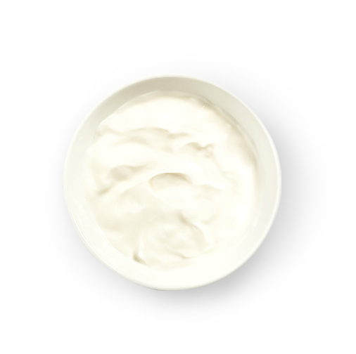 This Glucerna® high fibre meal plan includes low-fat vanilla yogurt