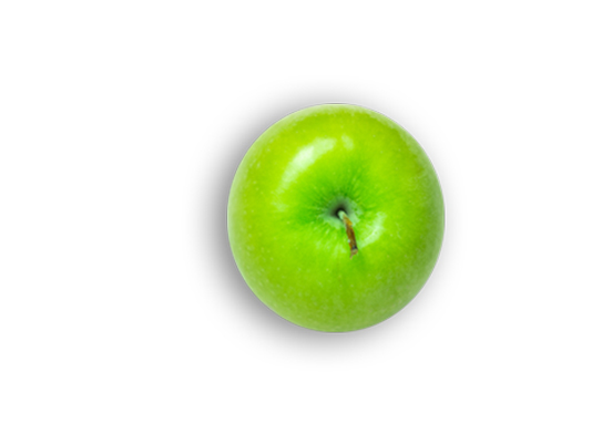 This Glucerna® high protein meal plan includes one green apple