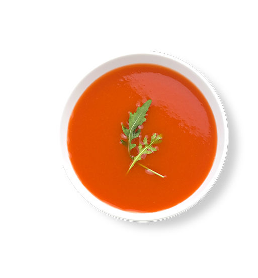This Glucerna® high protein meal plan includes tomato soup