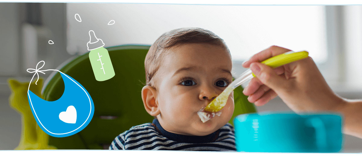 Similac® Mom Guide To Infant Feeding: Introducing Solids To Baby