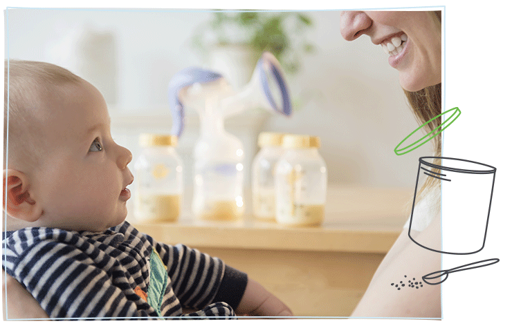 This Similac® article explains how to wean your baby off breastfeeding