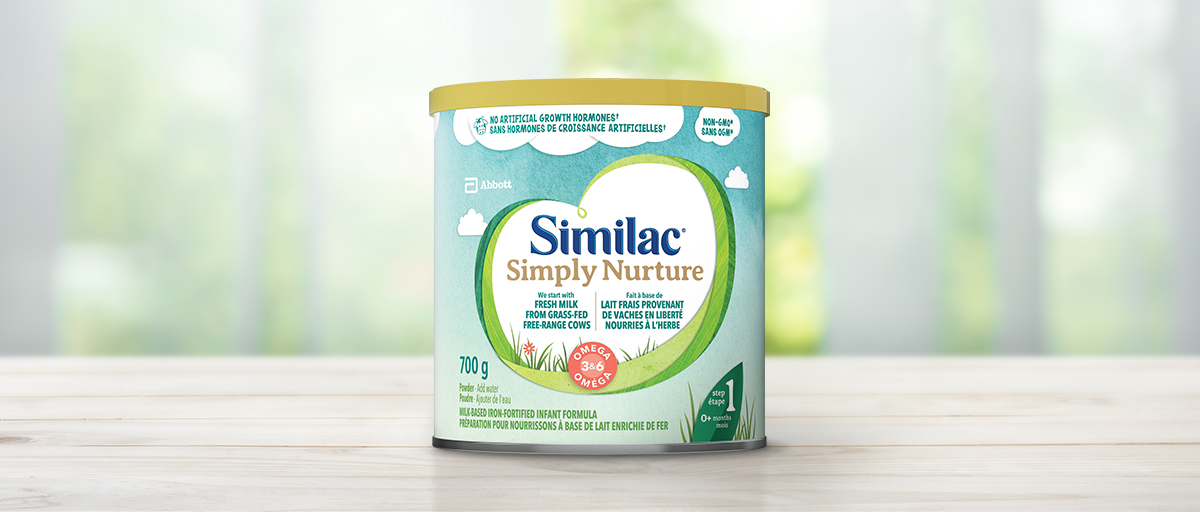 Similac<sup>®</sup> Go & Grow toddler formula for toddlers 12 to 36 months old