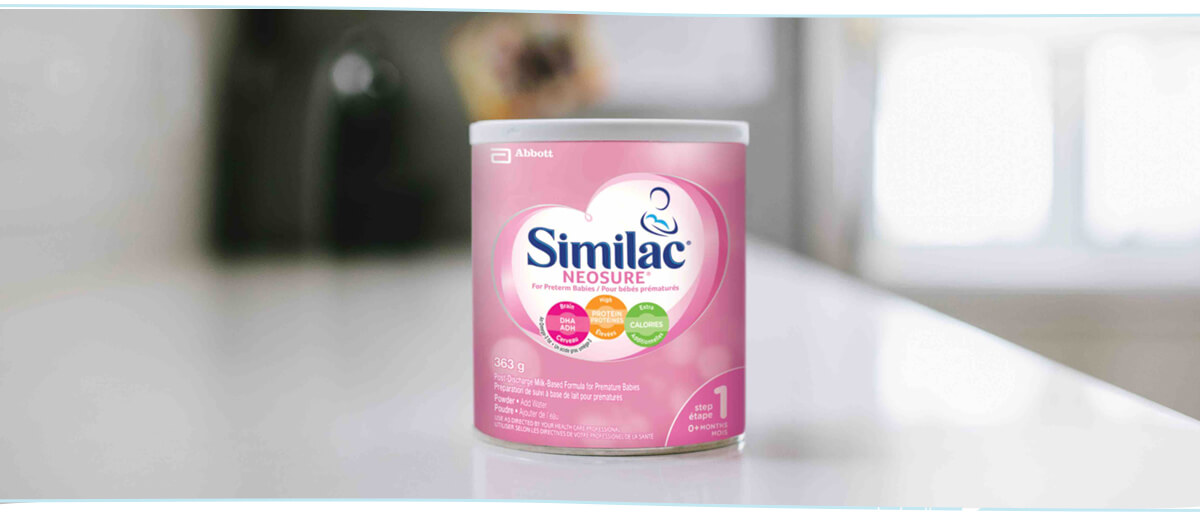 Similac® Neosure® 363g baby formula powder for premature babies