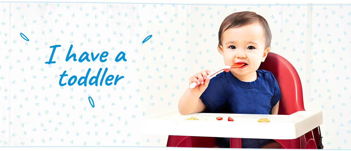 Healthy nutrition and mealtime tips for toddlers from Similac<sup>®</sup>