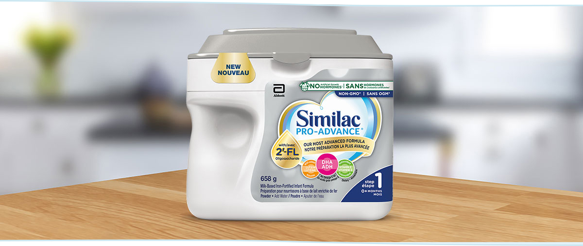 Similac Pro-Advance Step 1 - Our most advanced baby formula and our closest formula to breast milk