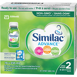 Similac® Advance® Step 2 16 x 235 mL ready to use
