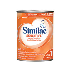Similac® Sensitive® 12 x 385 mL, concentrated liquid