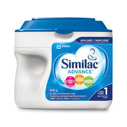 Similac® Advance® Step 1 in 658g powder pack