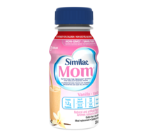 Similac Mom Vanilla - liquid nutrition for pregnant women and breastfeeding moms.