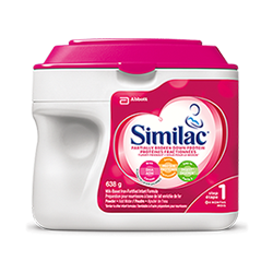 Similac® Partially Broken Down Protein 638g powder pack infant formula
