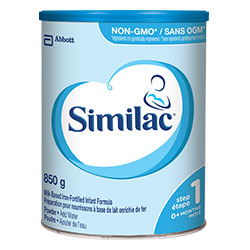 Similac® Iron-Fortified NON-GMO 850g powder can