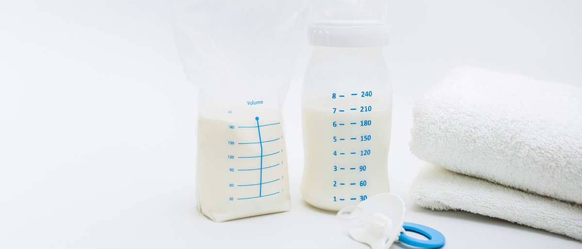 Storing breast milk