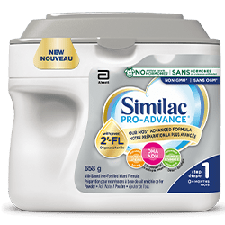 Similac Pro-Advance Step1 - Our most advanced baby formula and our closest formula to breast milk