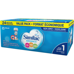 Similac® Advance® Step 1, 6 x 235 mL ready to use