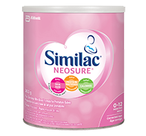 Similac Neosure formula for preemie babies