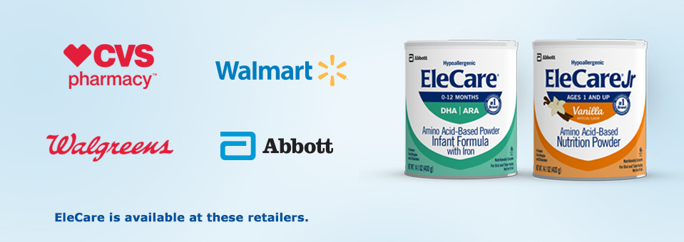 Find EleCare at a store near you