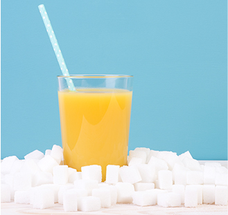 Sugar Sweetened Fruit Juice