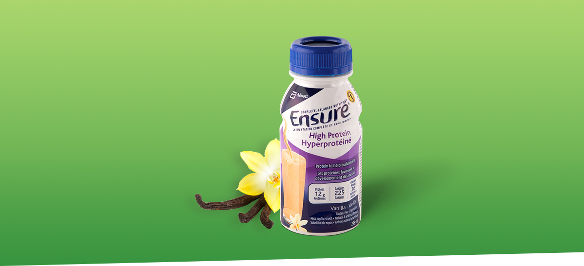 Maintain a healthy routine with Ensure® High Protein nutritional drink