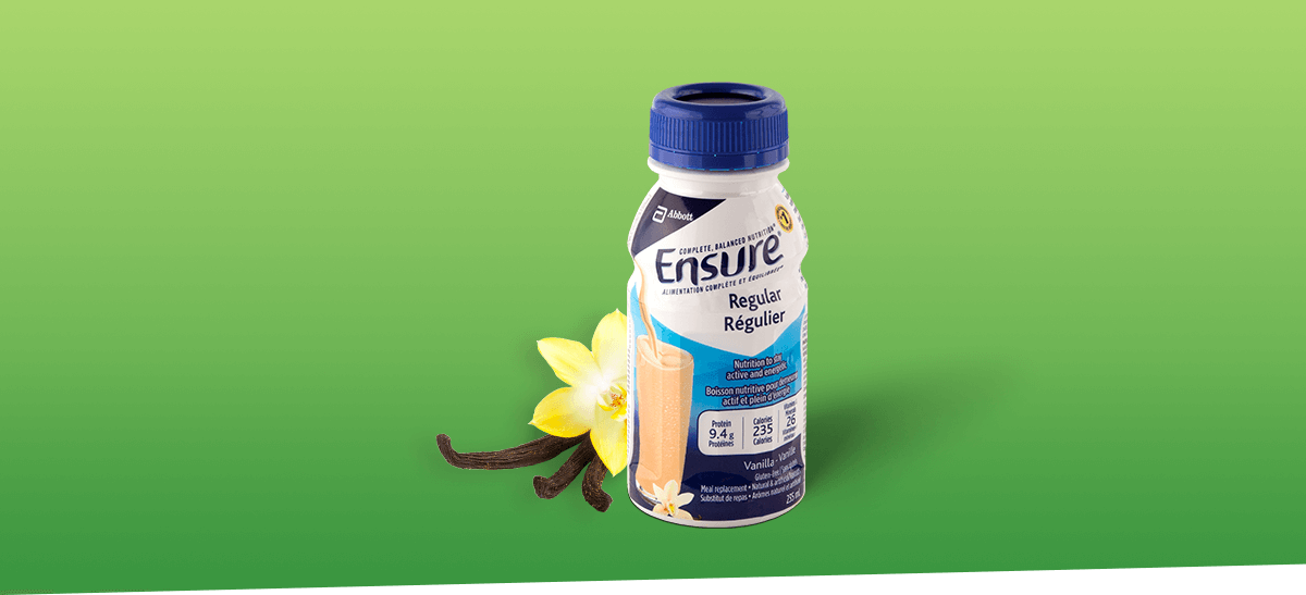 Maintain a healthy routine with Ensure® Regular supplement drinks