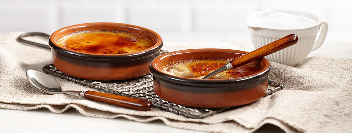 Easy recipe for crème brûlée with Butter Pecan Ensure® Regular