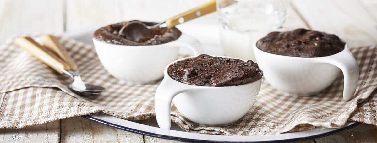 Easy chocolate brownie recipe made with sea salt and Ensure® Regular