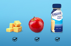 Support your health goals with good nutrition habits from Ensure®