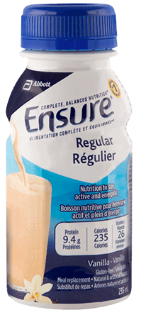 Ensure® Regular is a meal replacement for complete, balanced nutrition