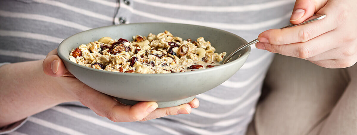 Muesli recipe made with Ensure® makes for a tasty overnight breakfast