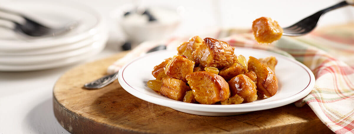 Pumpkin spice bread pudding recipe made with Vanilla Ensure® Regular