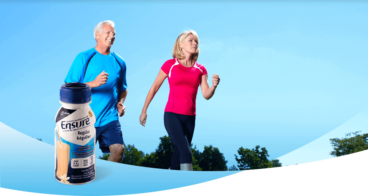 Fill your nutritional gap with Ensure® meal replacement drinks Canada