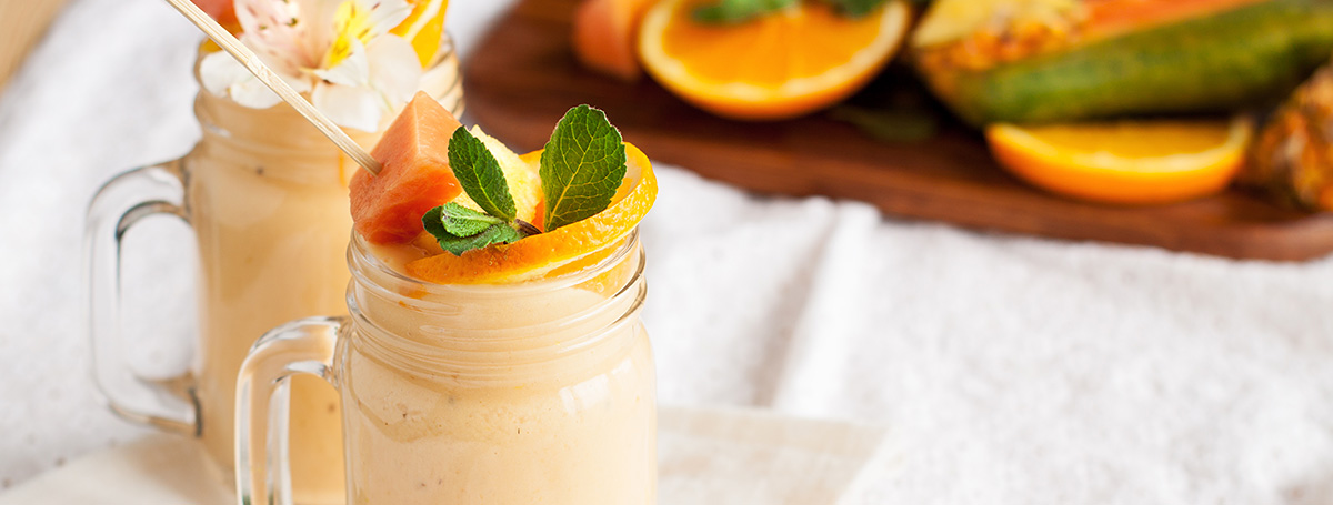 Tropical Mango-Pineapple Protein Smoothie Recipe