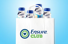 Sign up to the Ensure® Club and get up to $100