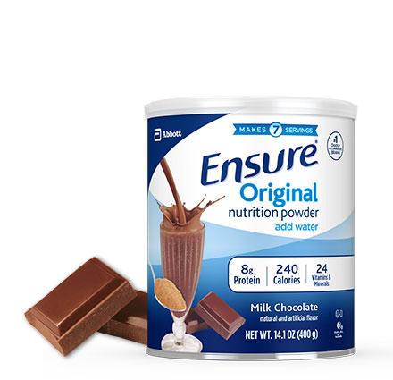 14 oz Ensure® Original Vanilla Protein Powder Drink Mix Can