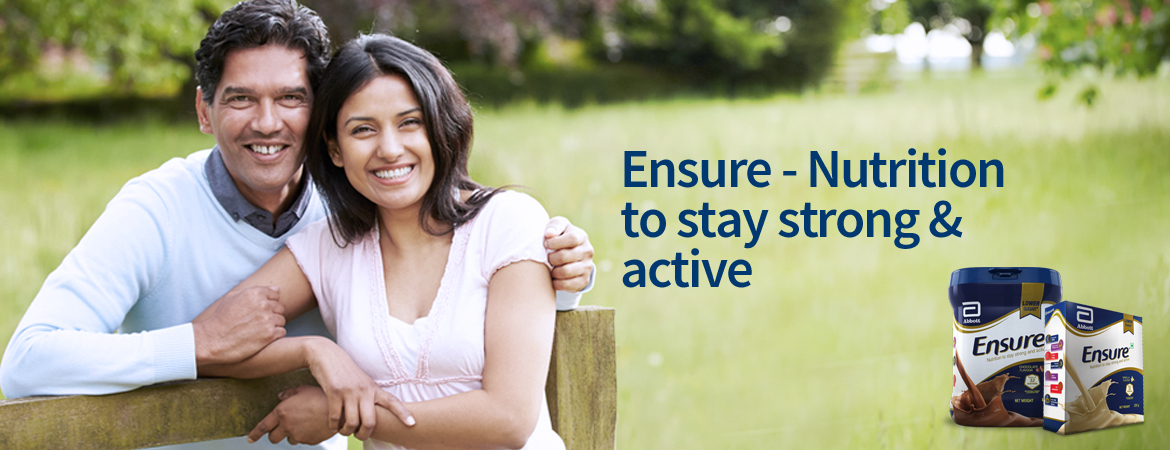 Ensure - Nutrition to stay strong & active