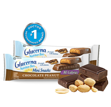 Glucerna Mini Snacks nutrition bar
