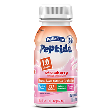 PediaSure® Strawberry Peptide 1.0 Cal