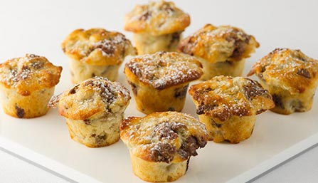 PediaSure® Banana Chip Muffins Recipe