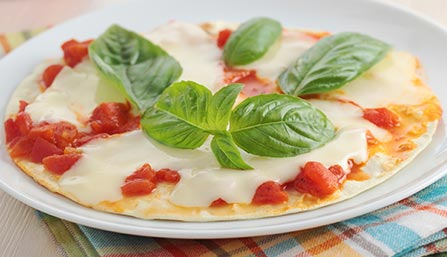 PediaSure® Tortilla Pizza Recipe