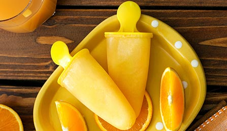 PediaSure® Orange Popsicle Recipe