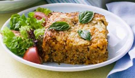 PediaSure® Turkey and Rice Casserole